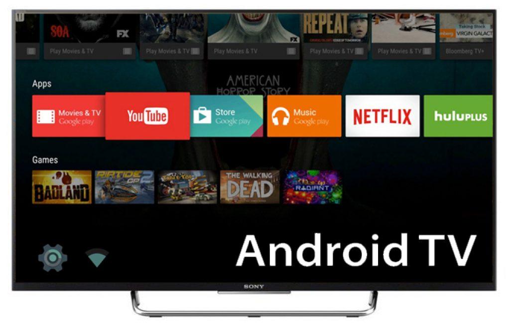 Hệ điều hành Android TV trên Sony