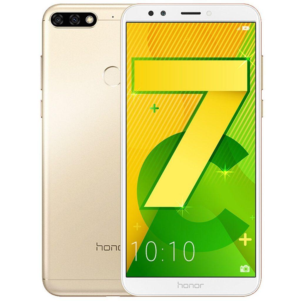 Điện thoại Honor 7C có thiết kế tràn viền đẹp mắt