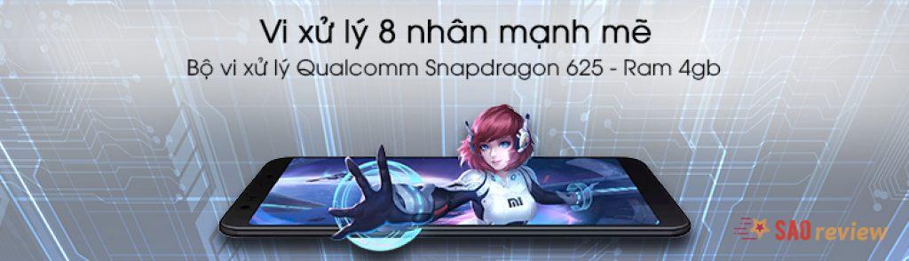 Xiaomi Mi A2 Lite Có bộ xử lý mạnh mẽ