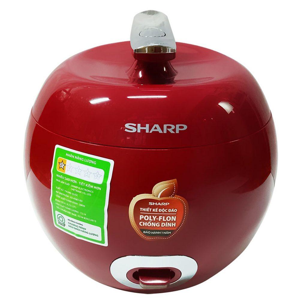 Nồi cơm điện Sharp KS-A08V-R 0.72L