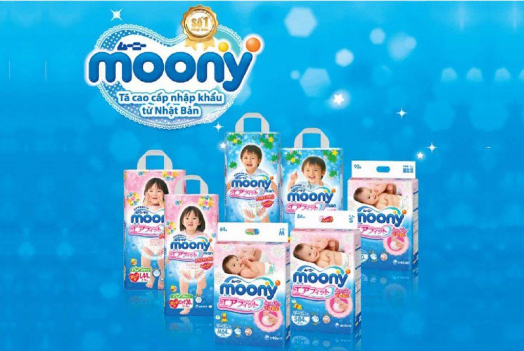 Bỉm hãng Moony
