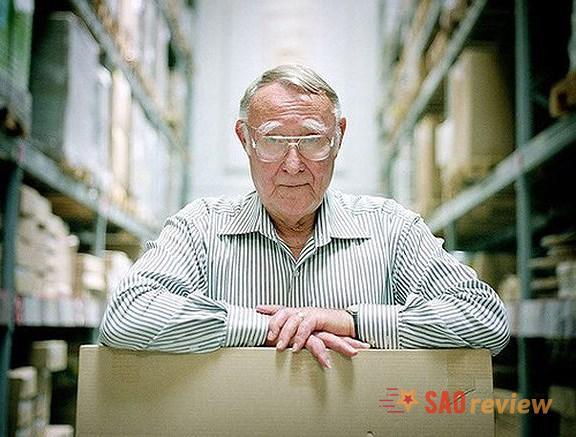 Tỷ phú Ingvar Kamprad người sáng lập IKEA
