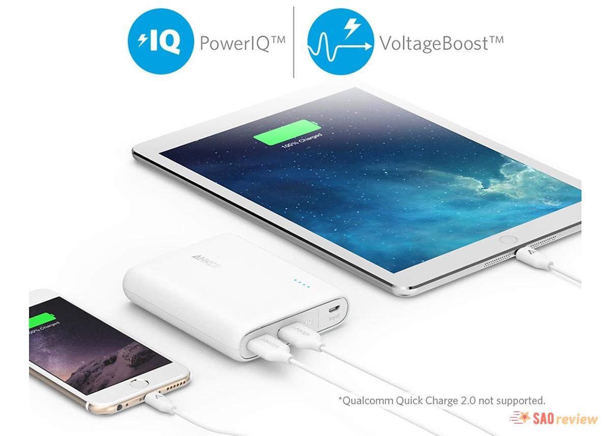 Công nghệ PowerIQ và VoltageBoost