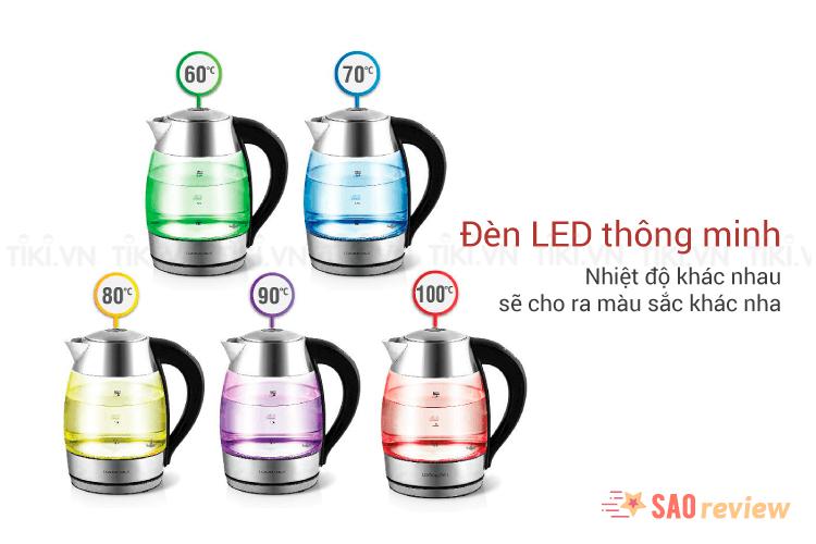 Đèn LED thay đổi theo nhiệt độ