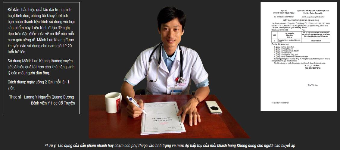 Thạc Sỹ - Lương Y Nguyễn Quang Dương - Bệnh Viện Y Học Cổ Truyền