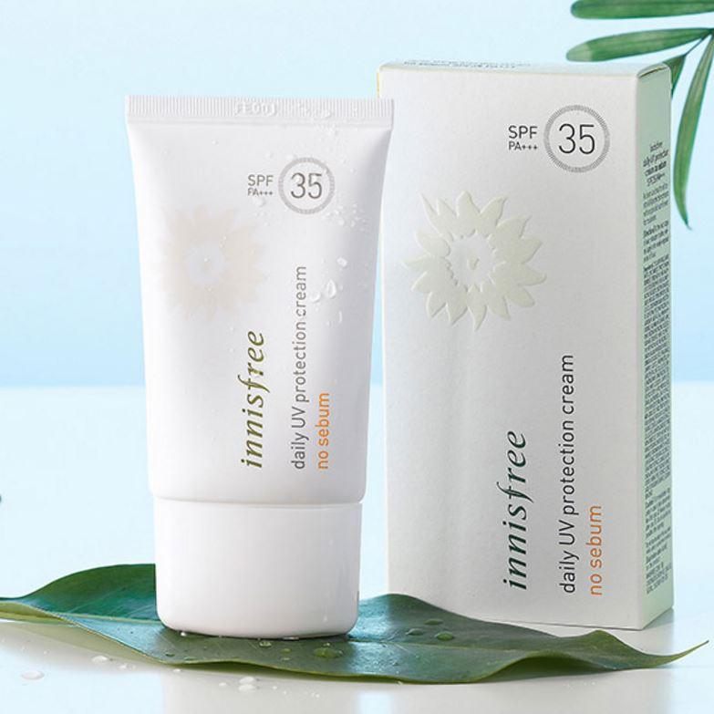 Kem chống nắng Daily UV Protection Cream No sebum SPF 35/ PA +++