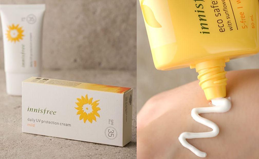 Kem chống nắng Inisfree tuyệt đối an toàn cho làn da