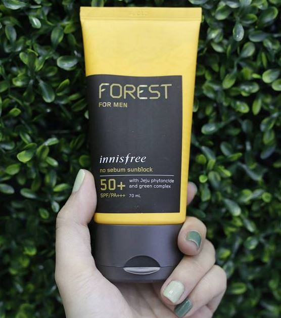 Innisfree Forest for Men No sebum Sunblock SPF 50 PA+++