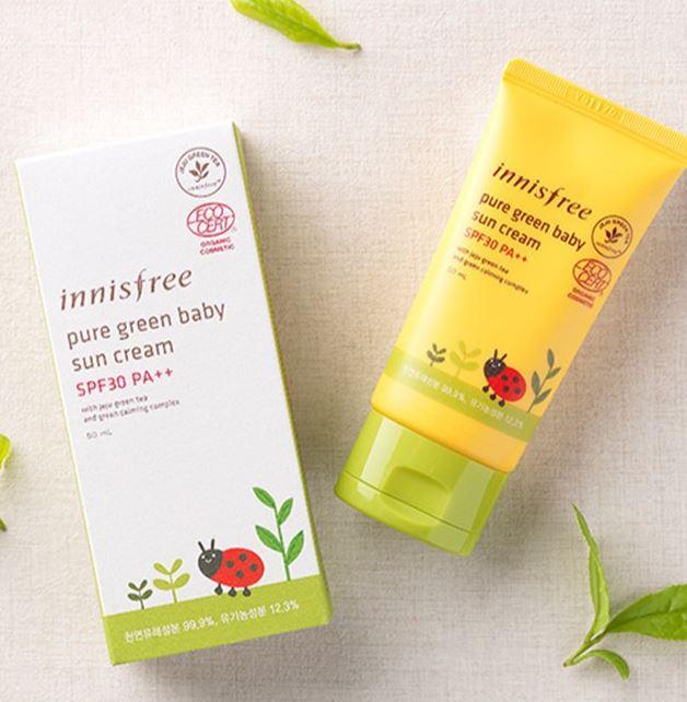 Innisfree Pure Green Baby Sun Cream SPF 30 PA +++