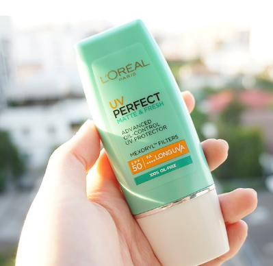 Kem chống nắng L'Oreal UV Perfect Matte and Fresh