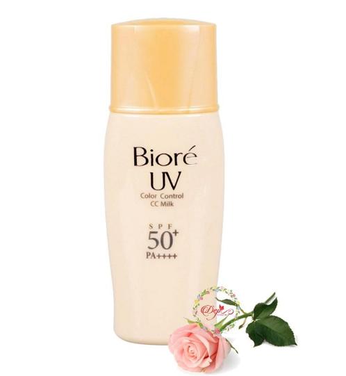 Kem chống nắng vật lý Biore UV Color Control CC Milk