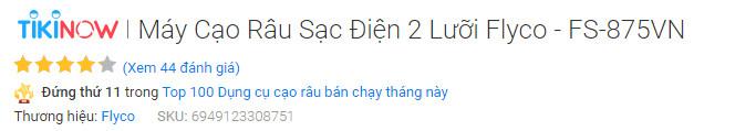 Một trong những sản phẩm bán chạy trên Tiki.vn