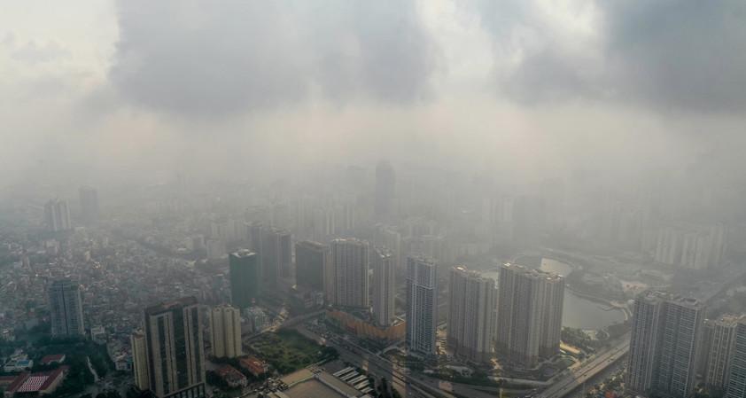 Ô nhiễm không khí tại Hà Nội ngày 28/9/2019