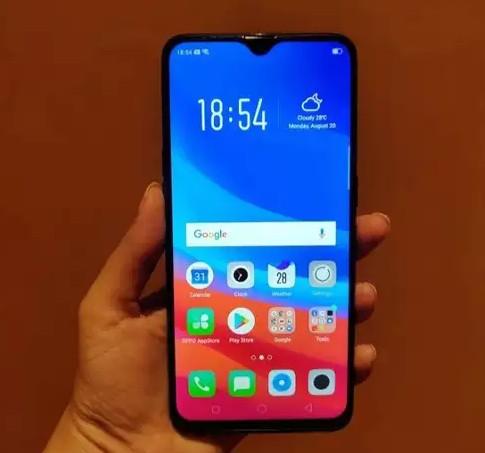 Điện thoại Oppo F9 có thiết kế đẹp